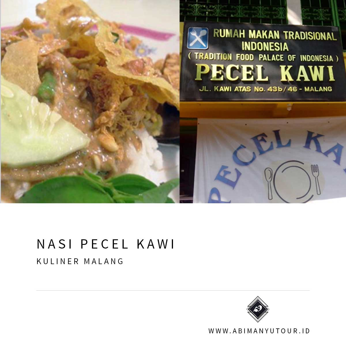 NASI PECEL KAWI
